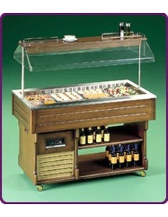 Levin ISOLA Cold Buffet Display