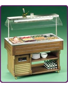 Levin ISOLA Hot Buffet Display