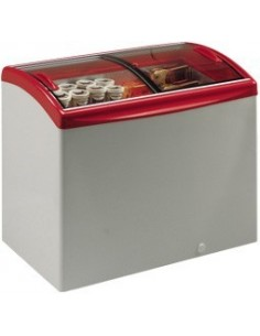 Levin CX RANGE Glass Lid Chest Freezer