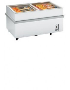 Levin CHV RANGE Glass Lid Chest Freezer