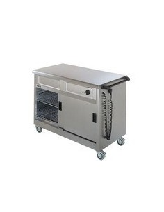 Lincat Mobile Hot Cupboard 3