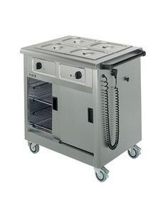 Lincat Mobile Hot Cupboard/Bain Marie 2
