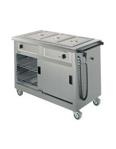 Lincat Mobile Hot Cupboard/Bain Marie 3