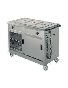 Lincat Mobile Hot Cupboard/Bain Marie 3
