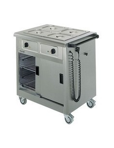 Lincat Mobile Hot Cupboard/Bain Marie 2